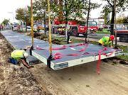 Cận cảnh con đường năng lượng mặt trời đầu tiên tại Hà Lan