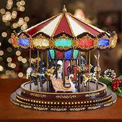 Bộ mô hình đu quay hình thú kèm nhạc Marquee Grand Carousel