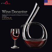 Bình đựng rượu vang độc đáo 1200ml Luxurious Crystal Glass