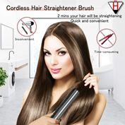 Bàn chải tóc không dây K-Salon Cordless Hair Straightener Brush và Heated Hair Comb