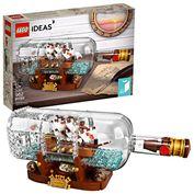 Đồ Chơi LEGO Ideas 21313 - Mô Hình Thuyền Trong Chai Thủy Tinh