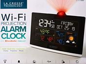 Đồng hồ  để bàn La Crosse C82929 WiFi Projection Alarm Clock with AccuWeather