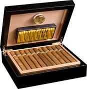 Hộp giữ ẩm cigar 30 điếu - Adorini Humidor Torino - Deluxe