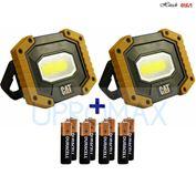 CAT LED Work Lights 500 Lumens, Rugged, Magnetic, Rotating Handle - 2 Pack (Đèn sửa chữa chống sốc, chống nước )
