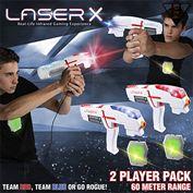 súng bắn Laser X Double Set là trò chơi bắn súng công nghệ laser
