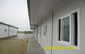 Nhà lắp ghép 1 tầng dùng làm nhà ở cho công nhân