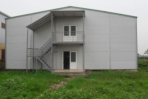 Nhà lắp ghép 2 tầng giá rẻ