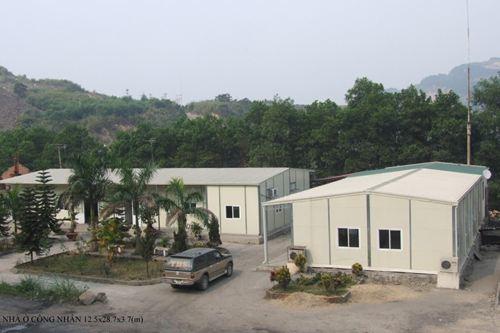 Nhà lắp ghép - Nhà điều hành công trường