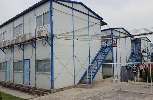 Nhà lắp ghép 2 tầng chống nóng hiệu quả