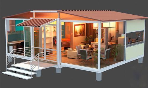 xây dựng nhà thép tiền chế bắc ninh Tổng diện tích- 135 m2 + 5 m2 hiên