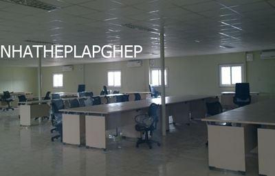 nhà văn phòng lắp ghép