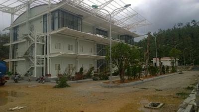 Nhà lắp ghép - Trung tâm điều hành TMC Đèo Cả
