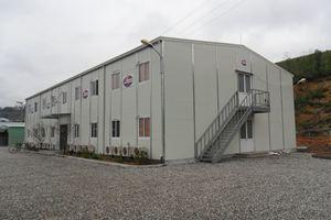 Nhà điều hành 2 tầng lắp ghép