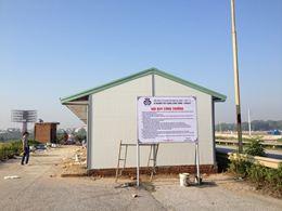 Lán trại công trình - Nhà điều hành dự án
