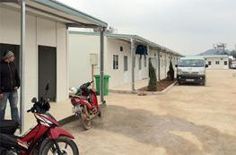 Nhà lắp ghép dùng làm nhà ở cho công nhân