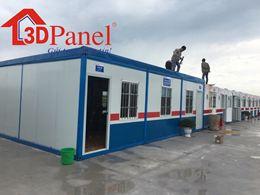 Container lắp ghép panel 3D mẫu 02