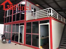 Container lắp ghép panel 3D mẫu 04