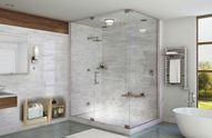 Phòng tắm kính hiện đại