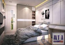Thiết kế nội thất chung cư Goden Palace_Nhà Anh Thanh