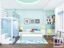 Thiết kế nội thất phòng ngủ con gái_Nhà Anh Hòa (Cầu Giấy)
