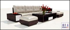 Bộ Sofa và Bàn Kệ Phòng Khách