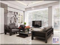 Thiết kế nội thất Showroom 188 Đội Cấn - Ba Đình (Gian Acrylic)