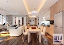 Thiết kế nội thất chung cư Làng Quốc Tế Thăng Long_Nhà Anh Tám
