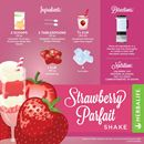 HERBALIFE FORMULA 1 CHOCOLATE RECIPES  WITH STRAWBERRY PARFAIT