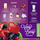 HERBALIFE FORMULA 1 VANILLA RECIPES WITH RED FRUITS SHAKE