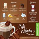 HERBALIFE FORMULA 1 LATTE COFFEE- MOKA COFFEE SHAKE