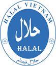 A valid halal certificate
