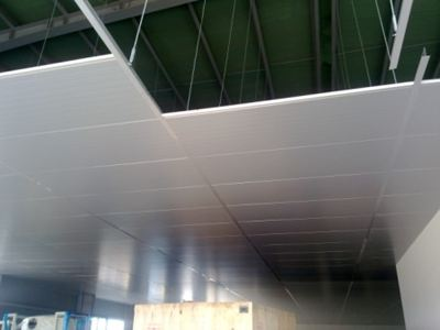 Drop ceiling insulated EPS