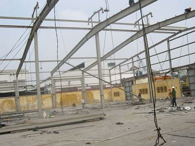 construction dismantling factory