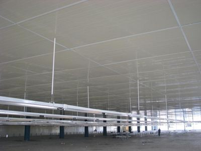 Metal ceiling 2 layers - Sandwich Panel