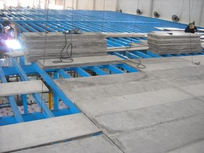 Lightweight concrete slab