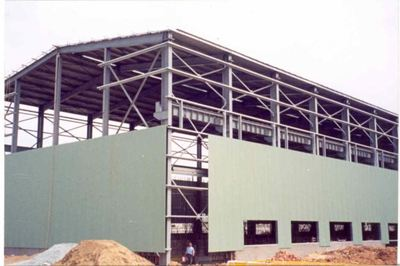 Construction of workshop