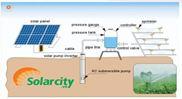 Hệ thống máy bơm nước năng lượng mặt trời 10HP