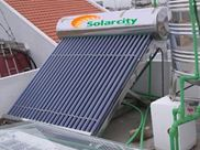 Máy nước nóng năng lượng mặt trời Solarcity 300 lit