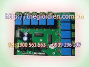 Mạch tắt/mở thiết bị điện 10 kênh vô tuyến