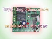 Mạch tắt/mở thiết bị điện 2 kênh vô tuyến