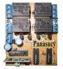 Mạch tắt/mở thiết bị điện tử 4 kênh vô tuyến