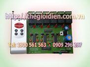Mạch tắt/mở thiết bị điện 6 kênh vô tuyến