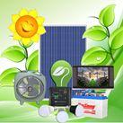 COMBO80 - điện năng lượng mặt trời (Quạt, đèn led)