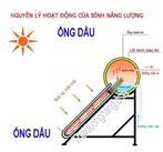 Máy nước nóng năng lượng mặt trời ống dầu 180 lit