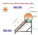 Máy nước nóng năng lượng mặt trời ống dầu 200 lit