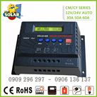 Controller Solar Charge 40A  PWM4024A-12v/24v LCD