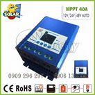 Điều khiển sạc MPPT 40A 12-24-48V