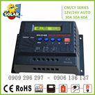 Điều Khiển Sạc Năng Lượng Mặt Trời  PWM 60A-12V/24 LCD /  PWM6024A