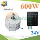 Bộ Điều Khiển Sạc Năng Lương Gió 600W/24V