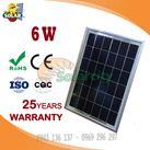 Tấm pin năng lượng mặt trời Poly 6w